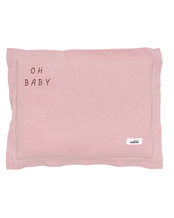 Poduszka OH BABY washed old pink S