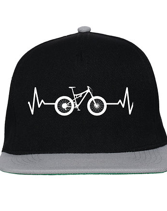 Czapka FullCap EKG FULL black/gray
