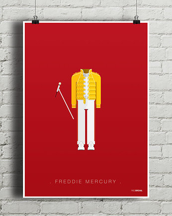 Freddy Mercury - plakat