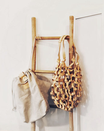 Summer essentials, Net Bag Natural - pleciona torba / worek
