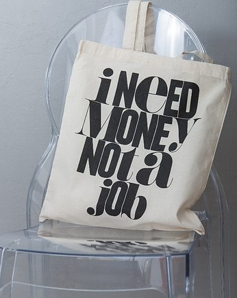 MONEY MONEY Tote bag // Torba na ramię