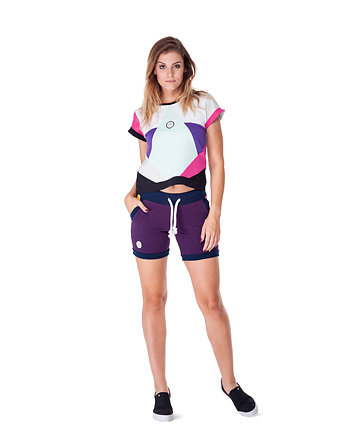 spodenki, Serpens Shorts (Violet)
