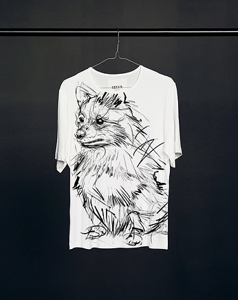 Miniature Spitz t-shirt woman