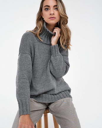 Moda, Merino turtleneck sweater