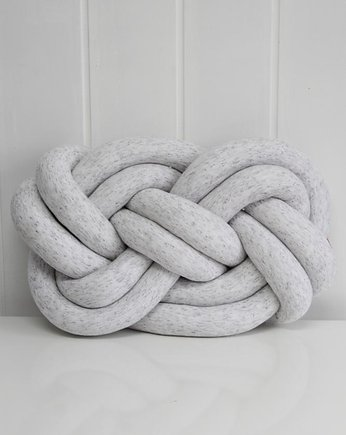 SUPEŁEK PILLOW=DOUBLE KNOT=melange