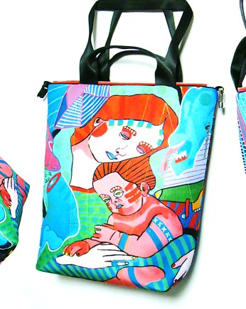 1780 art MIMA bag UNI & Marcin Painta print