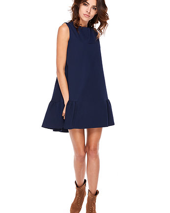 OOH LA LA, Sukienka Barbi Navy blue