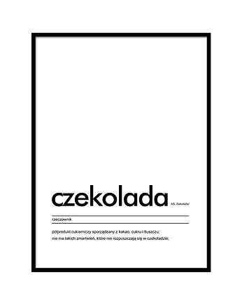 lemonducky, Plakat - Czekolada