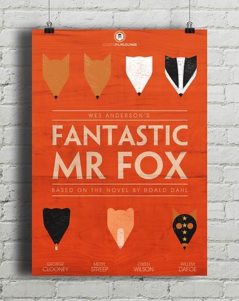 Fantastic Mr. Fox - plakat