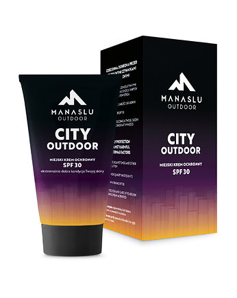 sport, Krem CITY OUTDOOR SPF 30
