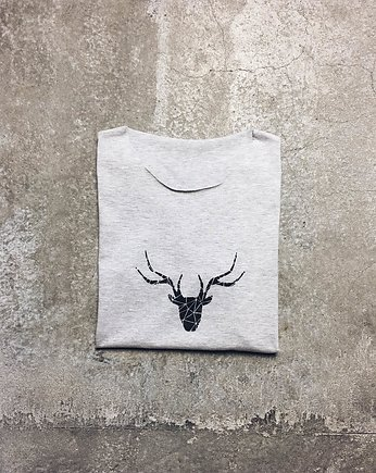 Quiet Gray, gshirt (deer)