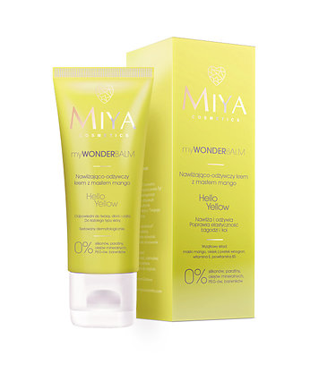 Miya Cosmetics, myWONDERBALM Hello Yellow