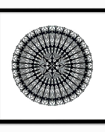 MANDALA Art Papercut (handmade artwork)