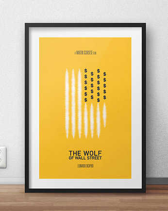 kino, The Wolf of Wall Street - plakat
