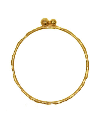OM jewellery, LINES: gold dots