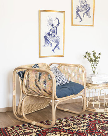Franzo Rattan, Fotel Laurent natural