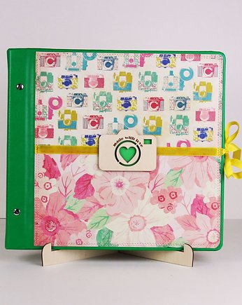 Album Vintage Flower - GREEN