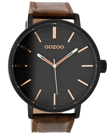 Zegarek OOZOO C9002 brown/black/rose