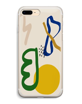 abstract, Abstrakcja iPhone case ETUI SILIKONOWE obudowa