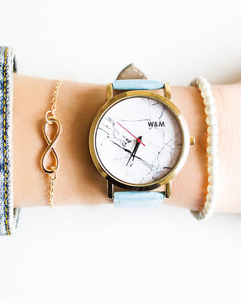 Zegarek White Marble Pattern Watch& Me