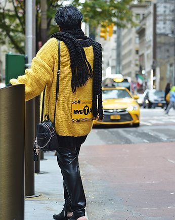 Sweter New York Taxi