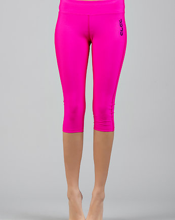 running, Legginsy PINK PANTHER 3/4