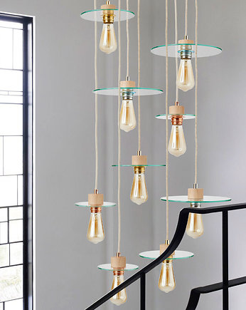 glass, Lampa loft