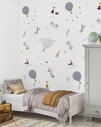 humptydumptyroomdecoration, Tapeta dziecięca Play with US
