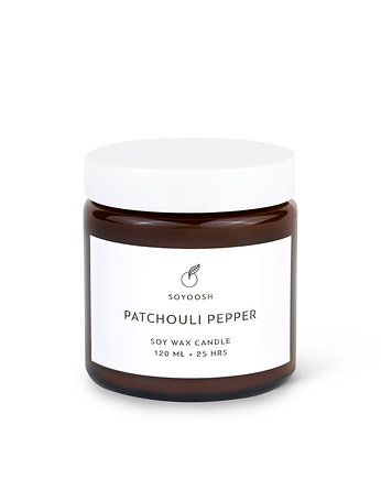 Świeca sojowa PATCHOULI PEPPER 120 ml