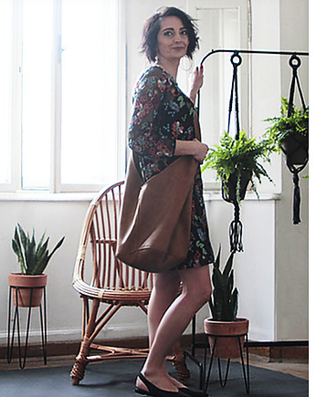 hipi, Long Boogi Bag ruda / torebka hobo / boho