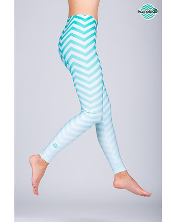 Legginsy Ziko Zakoo High - Mint