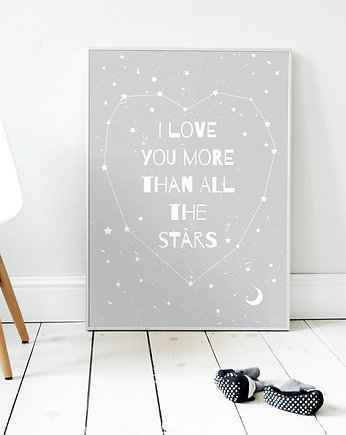 More than all the stars | plakat B2 G