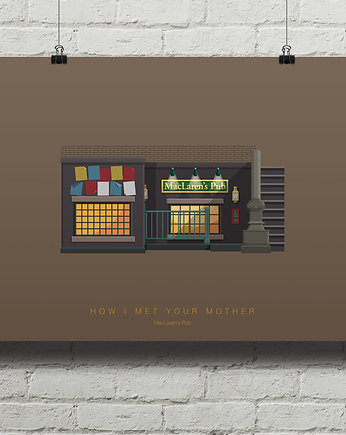 kino, How I Met Your Mother - plakat