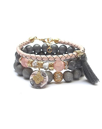 KiKa pracownia, Grey and antique pink vol. 20 /10-09-19/ set