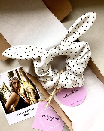 Dots Special Bunny Scrunchie  - gumka do włosów