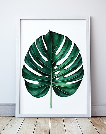 Plakat Liść Monstera