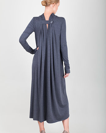 pudu, one button long dress