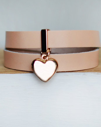 nude heart love gold