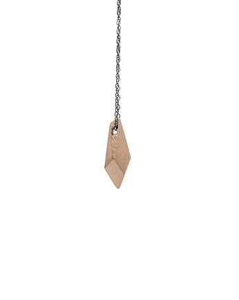 Filimoniuk, ONE EDGE / satin BRASS necklace