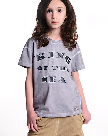 chłopiec - t-shirty, T-shirt KING OF THE SEA