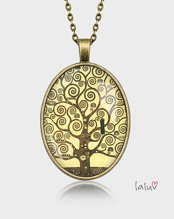Medalion owalny TREE OF LIFE