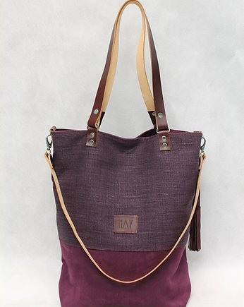 MAY, Simple Shopper  Plum