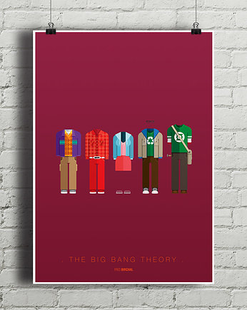 The Big Bang Theory - plakat