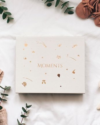 Kidspace, Moments - Memory Box Beżowy