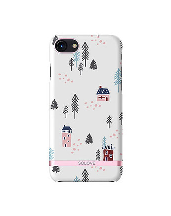 Etui na iPhone 7 – Snow Town
