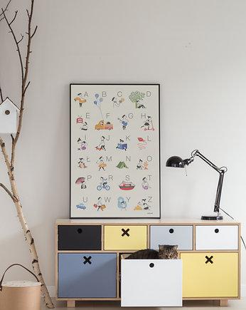 9af7c88b KOMODA WYSOKA 80 x 45 PASTELOWA - Design - pokój dziecka - meble ...