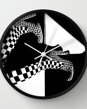 Black or White Clock