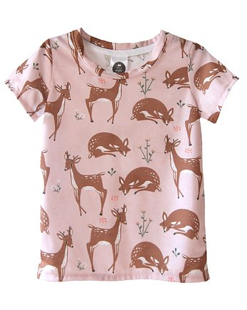 T-Shirt Roe-Deer Peach