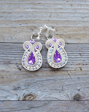 Ladendowe  migotki- klipsy soutache
