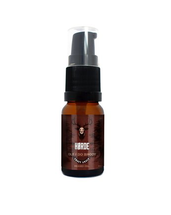 olej horde, Olejek do brody Smoky Amber 10ml